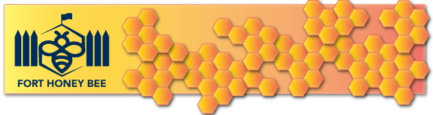 Fort Honey Bee logo and banner image