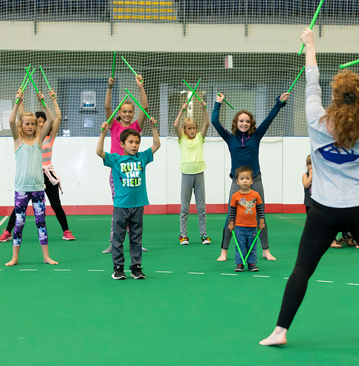 Kids' Generation Pound Class at the Dow Centennial Centre