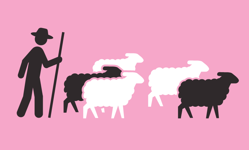 Sheep Leaving Parade logo