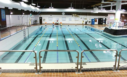 Interior shot of Harbour Pool