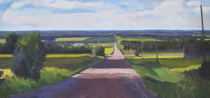 Open Road painting