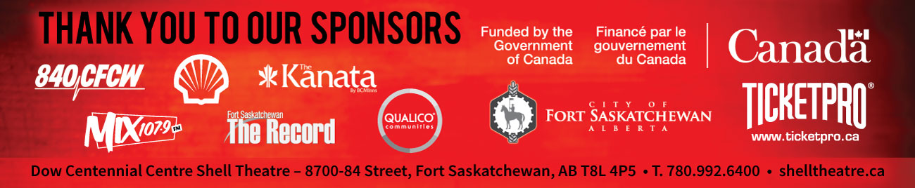 Shell Theatre sponsors and logos