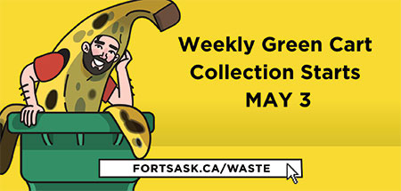 Weekly green cart collection starts May 3, 2021