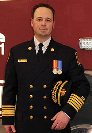 Fire Chief Todd Martens